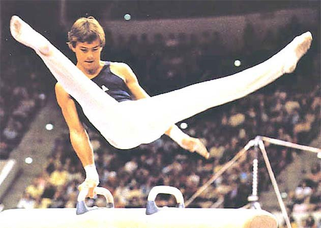 Photo of Gymnastics – 1974 – ABCs Jim McKay Remembers USA Kirk Thomas Becoming 1st American To Win World Gold