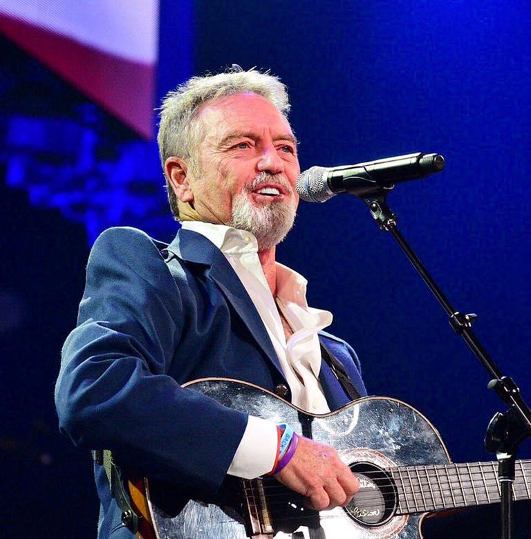 Photo of Music – 1985 – Larry Gatlin – Star Spangled Banner  – At The Stanley Cup Finals Game 5