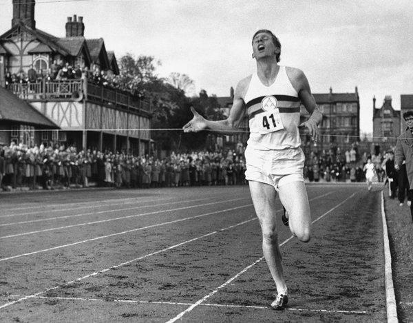 Photo of Track + Field – 1954 – Special Feature – The Tale Of Roger Bannister And The 4 Minute Mile Barrier