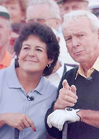 Photo of Golf – 1985 – Special – Promo For The Mazda Champions Tournament With Arnold Palmer + Nancy Lopez