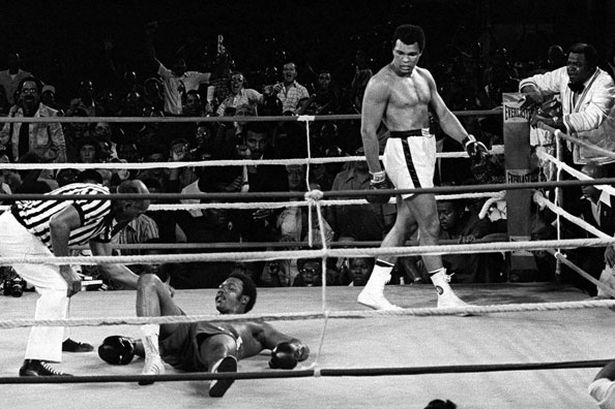 Photo of Boxing – 1974 – Rumble In The Jungle Ali Vs Foreman – Cornermen Archie Moore + Dr Pacheco Remember