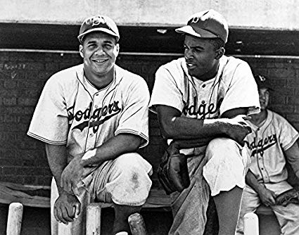 Photo of MLB – 1947 – Dodger Catcher Roy Campanella On His + Jackie Robinson Meeting With Commissioner Rickey