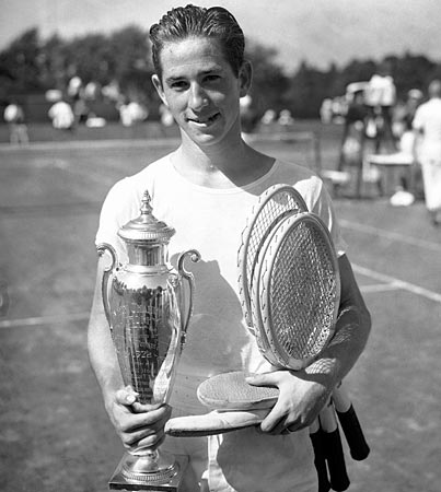 Photo of Tennis – 1941 – Highlights Of U S Open Champions – Featuring Sara Cook And Bobby Riggs