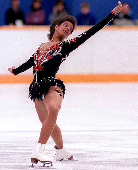 Photo of Figure Skating – 1986 – Special Feature – Jim McKay Interview With World Champ USA Debi Thomas