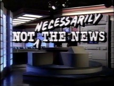 Photo of Comedy – 1985 – Not Necessarily The News Stuart Pankin Features Occasional Funeral Mad Libs