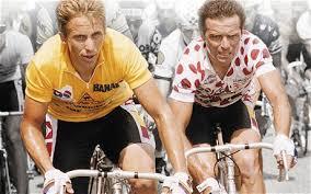 Photo of Cycling – 1985 – Highlights – Battle For The Tour Du France Between Bernard Hinault + Greg LeMond