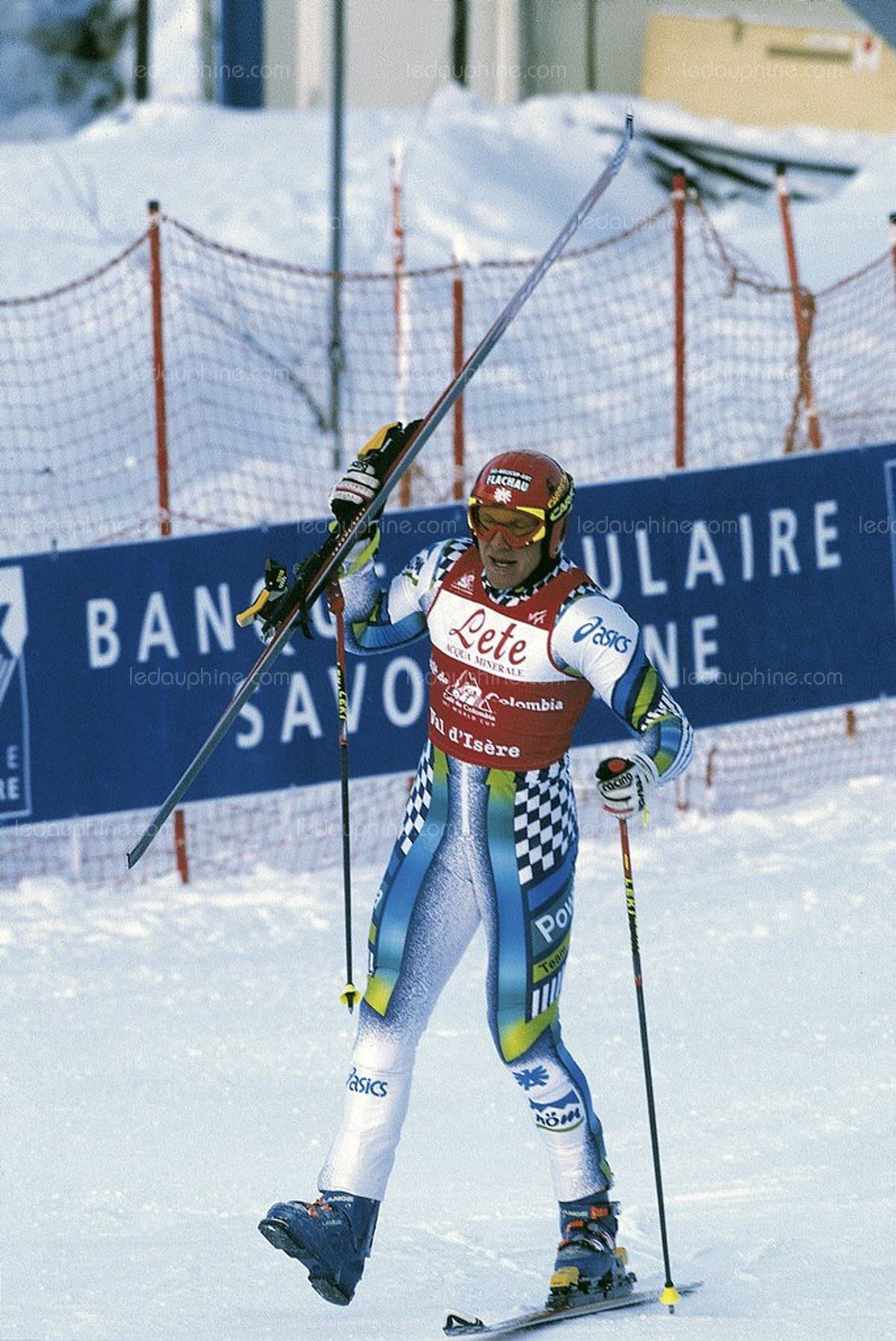 Photo of Olympics – 1980 – Lake Placid Winter Games – Alpine Skiing Womens Downhill – FRA  Caroline Attia