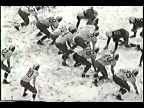 Photo of NFL – 1945 To 1951 – NFL Films Steve Sabol On Tales Of A One Eyed Wonder – Eagles QB Tommy Thompson