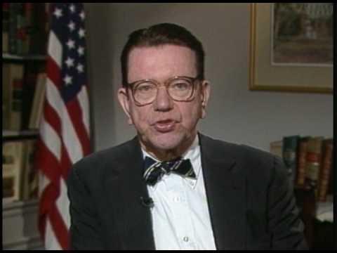 Photo of News – 1987 – CNN Headline News – Illinois Senator Paul Simon Announces His Run For  U S President