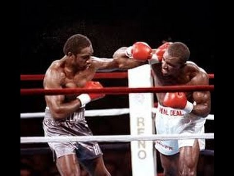 Photo of Boxing – 1987 – ABCs Alex Wallau Interviews Evander Holyfield After Retaining Title Vs Henry Tillman