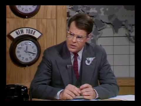 Photo of Comedy – 1978 – Skit – Behind The Scenes Look At Weekend Update News Correspondent Dan Aykroyd