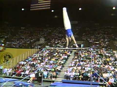 Photo of Gymnastics – 1985 – American Cup Championship – Mens Floor Exercise Competition –  USA Dan Hayden