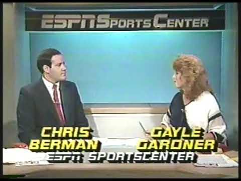 Photo of Golf – 1985 – ESPN SportsCenter Weekend Golf Highlights With Gayle Gardner + Chris Berman