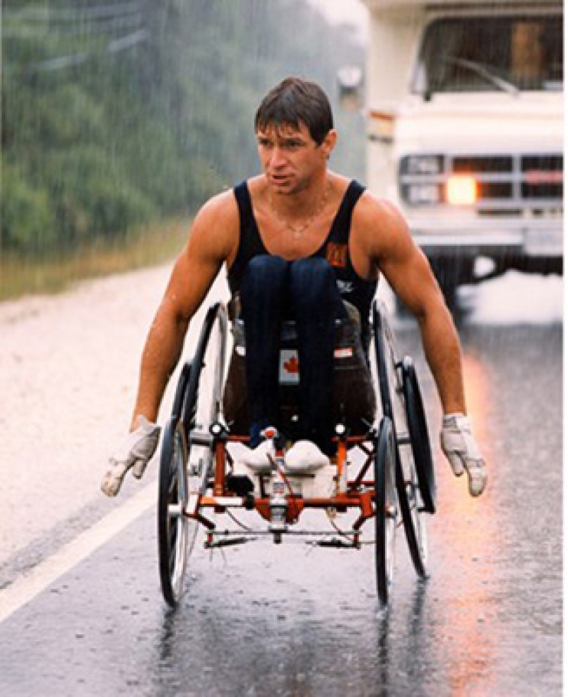 Photo of Distance Running – 1985 – Special – Man In Motion World Tour – Featuring Rick Hansen
