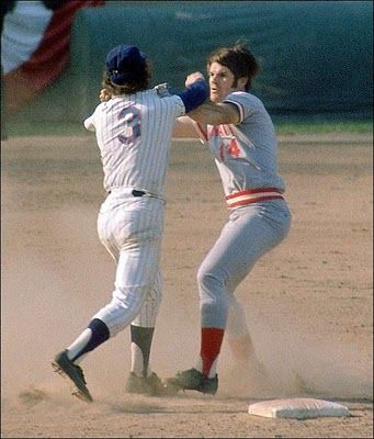 Photo of MLB – 1973 – Keith Jackson Highlights Mets Bud Harrelson Fight With Reds Pete Rose