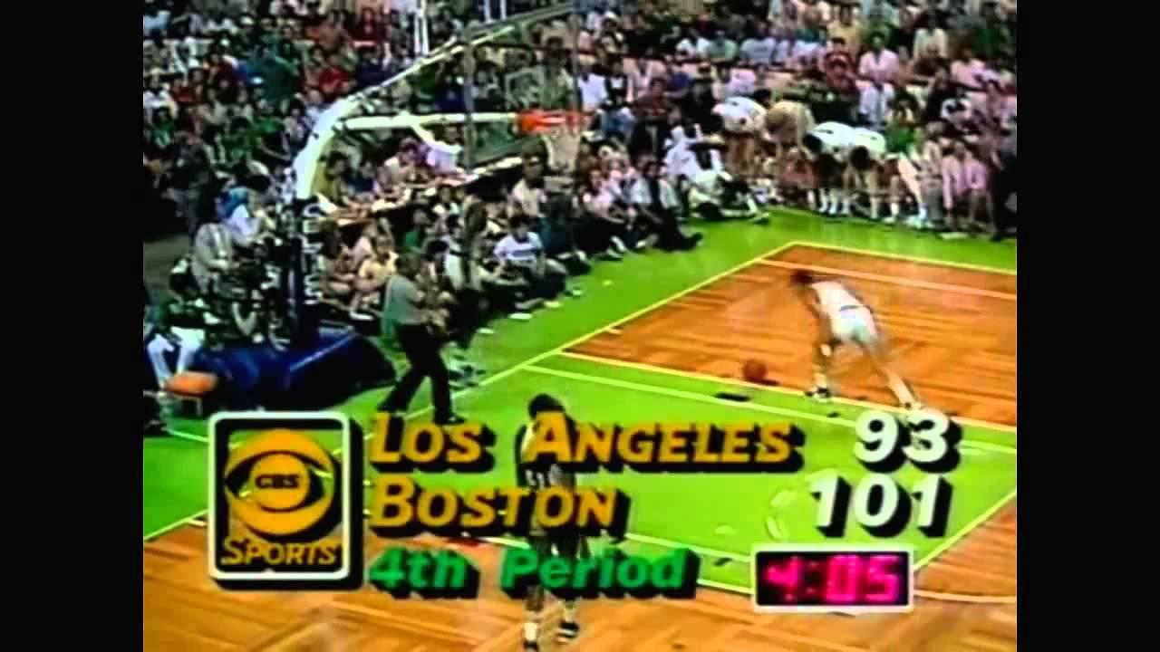 Photo of Golf – 1987 – Brent Musburger Asks Greg Norman + Seve Ballesteros On Their Picks Lakers Vs Celtics