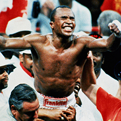 Photo of Boxing – 1984 – Sugar Ray Leonard Talks About His Career And Marvin Hagler For Sportsman Of Year