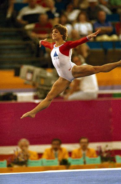 Photo of Gymnastics – 1985 – American Cup Championship – Womens Floor Exercise Finals –   USA Mary Lou Retton