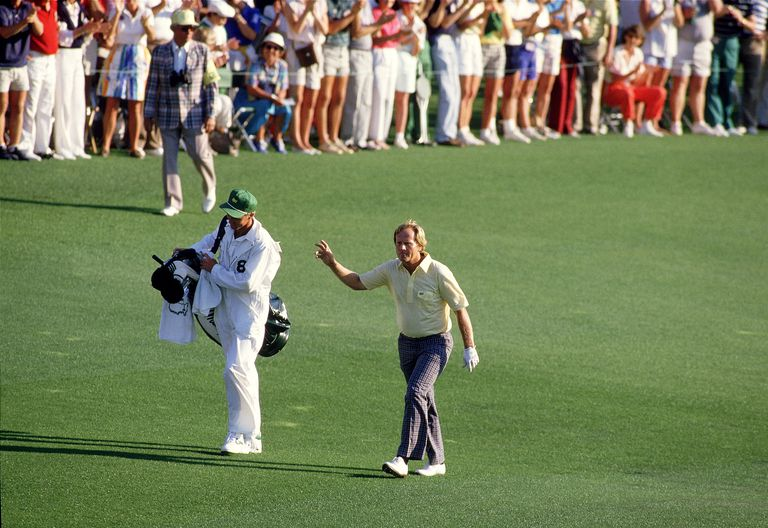 Photo of Golf 1987 Special CBSs Pat Summerall Remembers 1986 Masters + Jack Nicklaus Masters Career