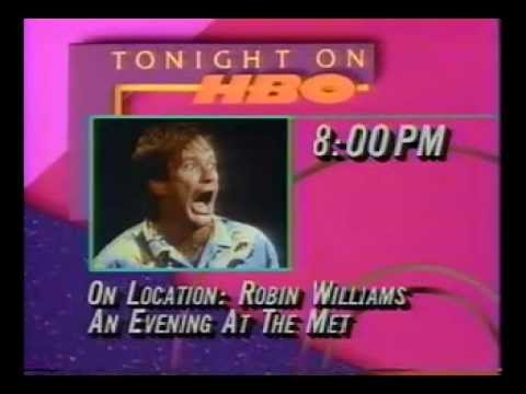 Photo of Comedy – 1978 – HBO On Location Special – Robin Williams – An Evening At The Met