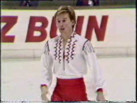 Photo of Figure Skating – 1987 – European Championships – Featuring Mens Champion URS Alexandre Fadeev