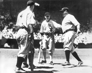Photo of MLB – 1933 – 1st All Star Game Highlights – With Rick Ferrell + Lefty Gomez + Joe Cronin + Babe Ruth