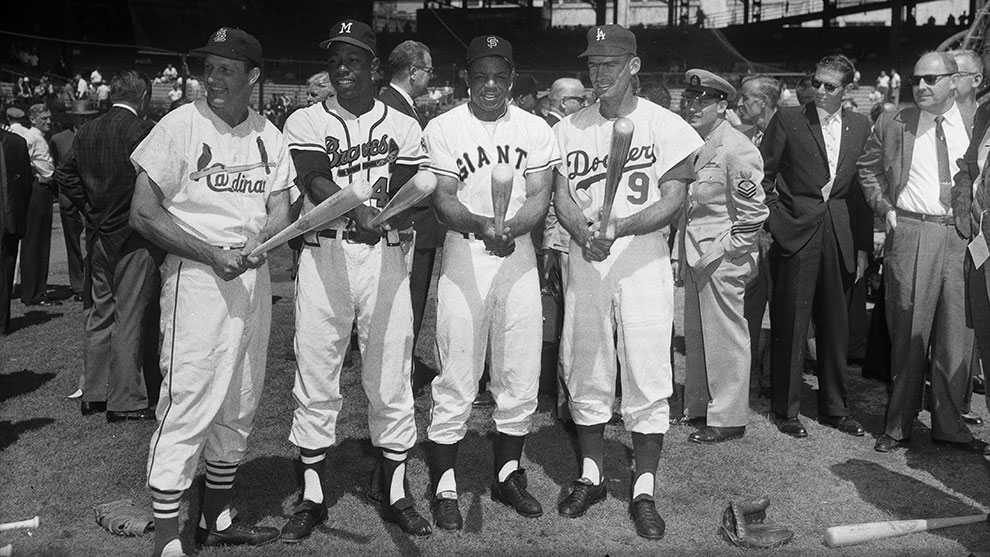 Photo of MLB – 1960s – Special Preview Of The Stars Of The Decade – Mantle + Mays + Gibson + McClain + McCovey + Spahn + Brock Et Al