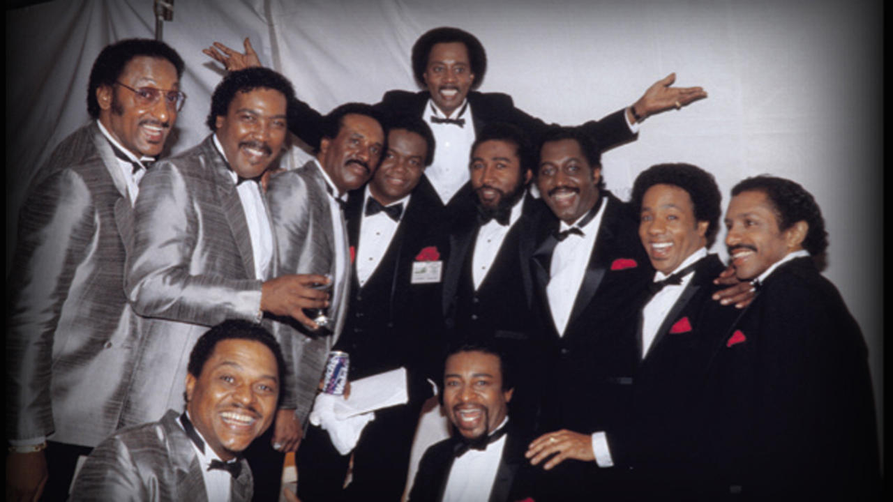 Photo of Music – 1985 –  The 4 Tops + The Temptations Medley – I'll Be There & My Girl & Getting Ready More