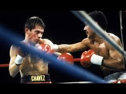 Photo of Boxing – 1985 – WBC Super Featherwt Title – Dwight Pratchett Vs Julio Cesar Chavez  – Thru 4 Rnds