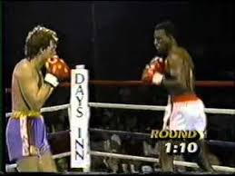Photo of Boxing – 1985 – 8 Round Light Heavyweight Bout – Rick Myers Vs Evander Holyfield – With Al Albert
