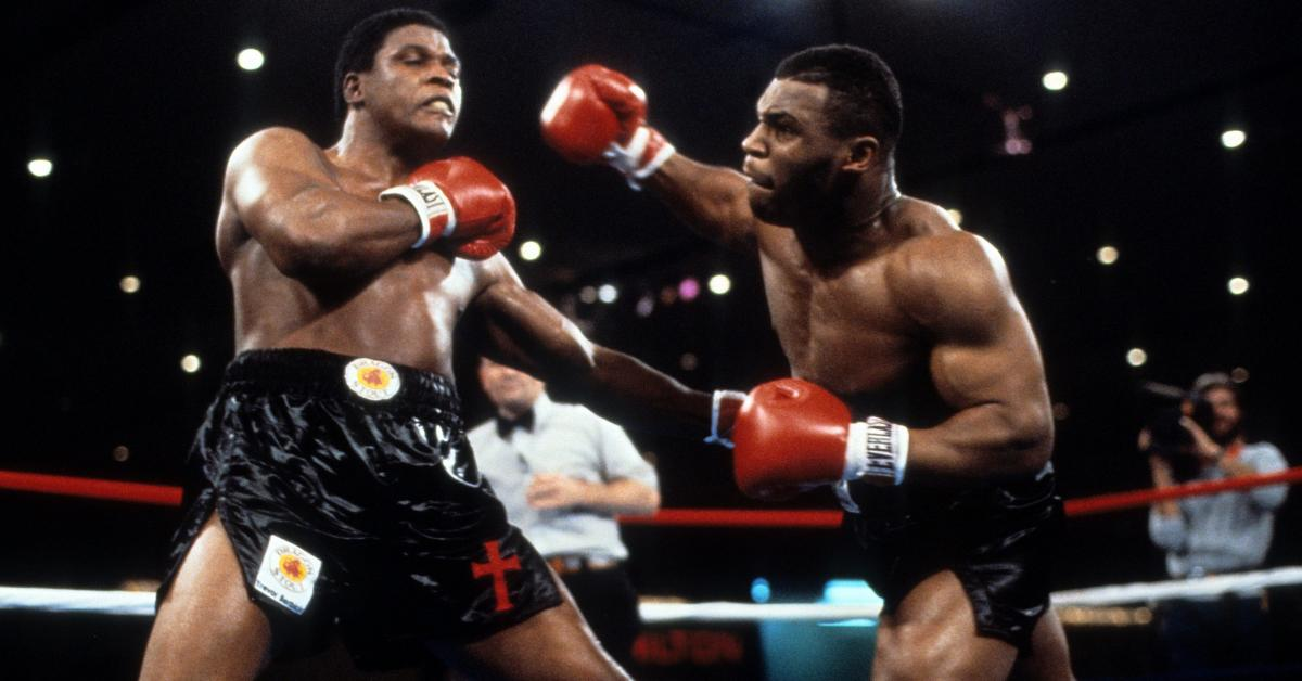Photo of Boxing – 1986 – Mike Tyson + Jim Lampley + Al Wallau Review Heavywt Title Fight Tyson Vs Berbick