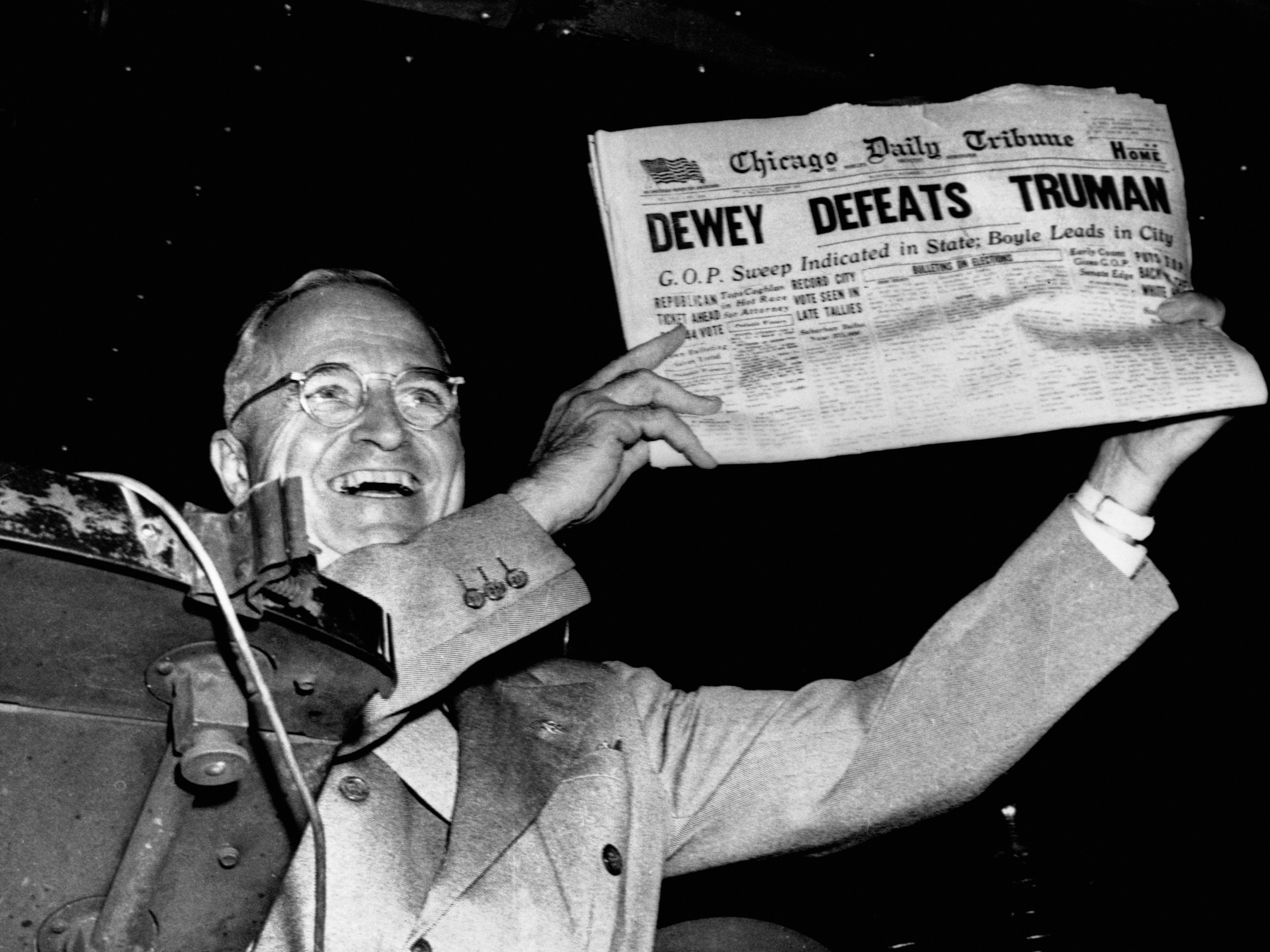 Photo of Music – 1954 – US President Harry Truman – Hail Hail The Gangs All Here