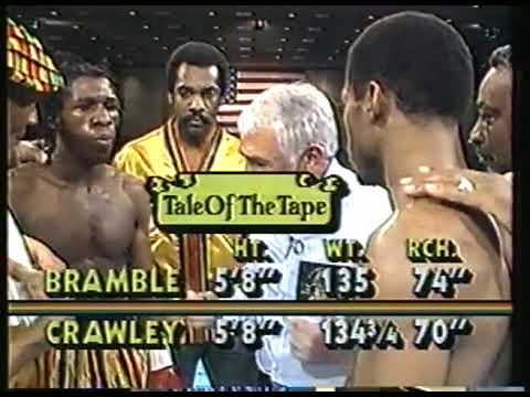 Photo of Boxing – 1986 – Marv Albert + Dr Ferdie Pacheco Review + Wrapup Lightwt Title – Crawley Vs Bramble