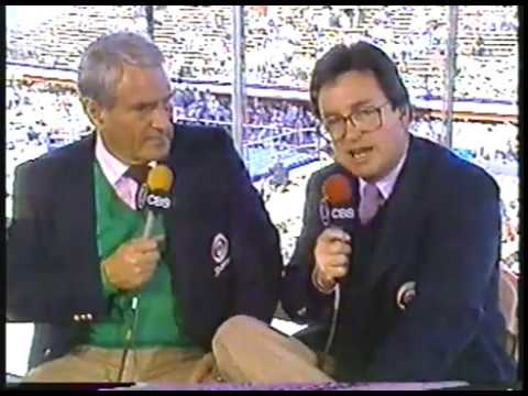 Photo of Boxing – 1987 – Tim Ryan + Thomas Hearns + Hugh McIlvanney + Arthur Mercante Talk Leonard Vs Hagler