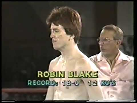 Photo of Boxing – 1983 – 10 Round Welterweight Bout – J C Kim Vs Robin Blake – With Al Bernstein + Sam Rosen