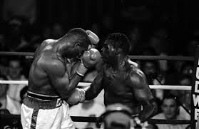Photo of Boxing – 1986 – HBOs Larry Merchant  Provides The Story And Career Highlights Of Champ Tony Tubbs