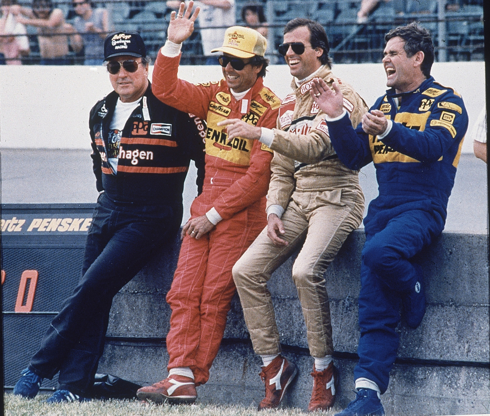 Photo of Auto Racing – 1986 – Indy 500 Special – Interviews With Danny Sullivan + Mario Andretti + A J Foyt