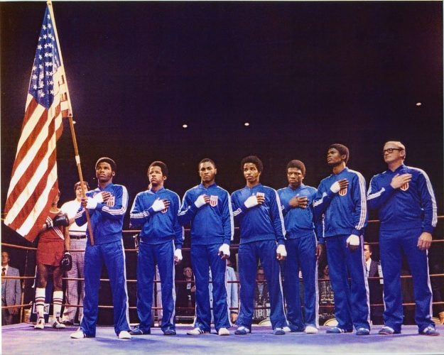 Photo of Boxing – 1980 – USA Vs Cuba Amateur Boxing – Bantamwt Bout – USA Jackie Beard Vs Cuba Hector Lazaro