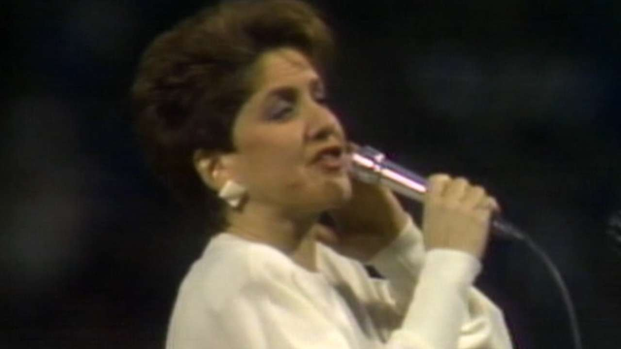 Photo of Music – 1986 – Suzyn Waldman – Star Spangled Banner – Sung At 1986 MLB NLCS Angels Vs Red Sox Game 7
