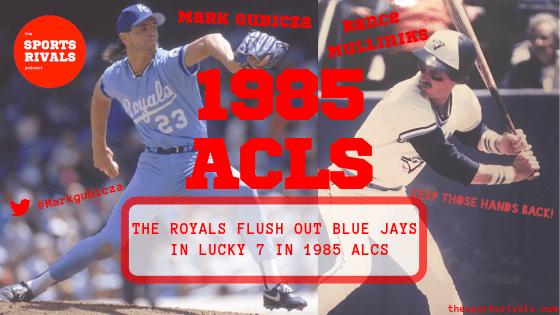Photo of MLB – 1985 – ALCS Game 7 Royals Vs Blue Jays PreGame Show – Dick Enberg + Rick Dempsey + Tony Kubek