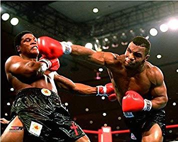 Photo of Boxing – 1986 – Jim Lampley + Alex Wallau – In Studio Review Heavywt Title Fight – Tyson Vs Berbick