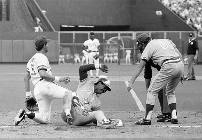 Photo of MLB – 1985 – ALCS Game 4 Blue Jays Vs Royals PreGame With Dick Enberg + Rick Dempsey + Tony Kubek
