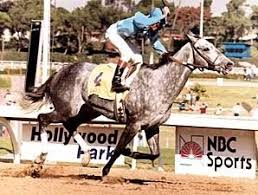 Photo of Horse Racing – 1984 – Breeders Cup Distaff – Dick Enberg + Dave Johnson Call Win By Princess Rooney