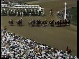 Photo of Horse Racing – 1987 – Kentucky Derby Special – Promenade Of Field To Starting Gate – With Jim McKay