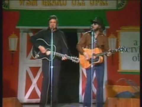 Photo of Music – 1979 – Johnny Cash + Hank Williams Jr Duet – Kaw-Liga