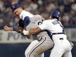 Photo of NCAA Baseball – 1987 – CWS Game #13 Texas Vs Oklahoma State Special – Injury To OkSt Robin Ventura