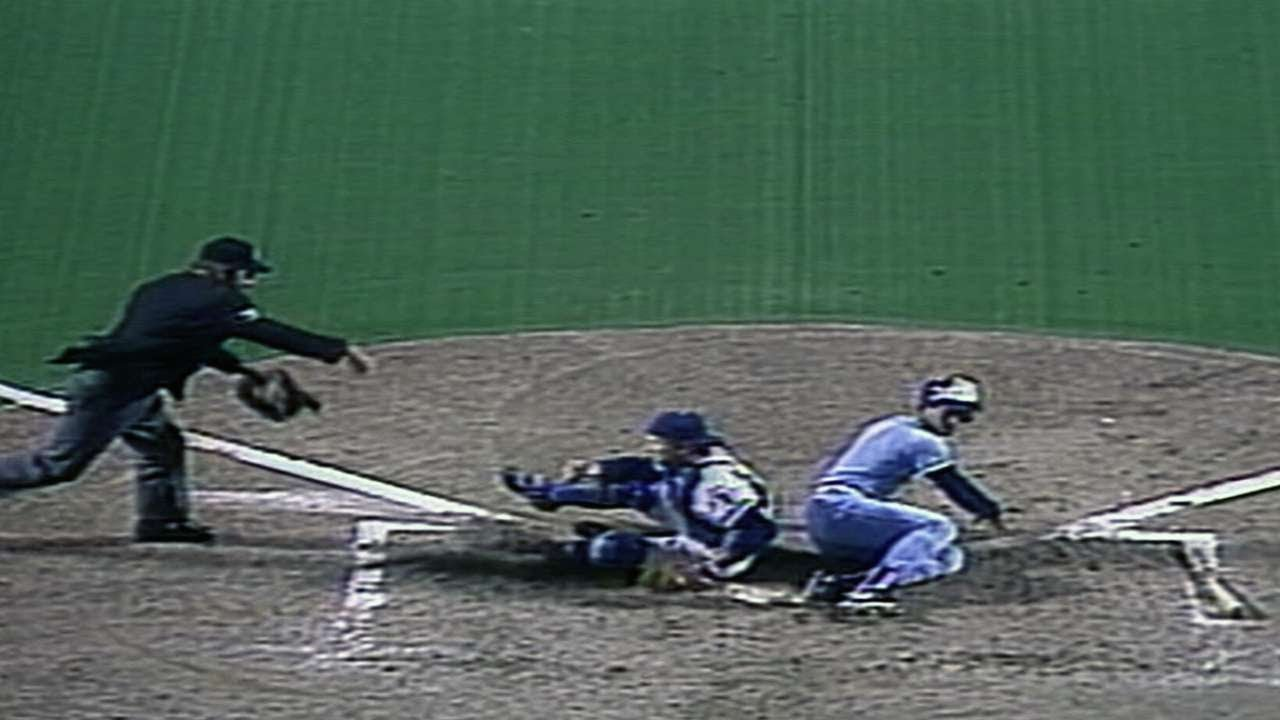 Photo of MLB – 1985 – Highlights Of ALCS 7 Game Series – K C Royals Vs Toronto Blue Jays  With George Grande
