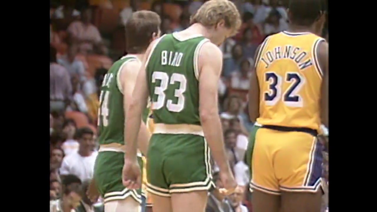 Photo of NBA – 1987 – Finals  Game 3  Lakers Vs Celtics PreGame Show – With Brent Musburger + Red Auerbach