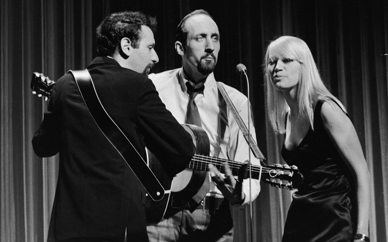 Photo of Music – 1982 – Folk Music Special – Lindsey Buckingham + The Kingston Trio + Peter  Paul + Mary