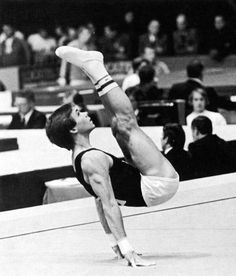 Photo of NCAA Gymnastics – 1979 – Mens Championship Highlights – Pommel Horse + Parallel Bars + Floor Exercise – With Bart Conner + Kurt Thomas